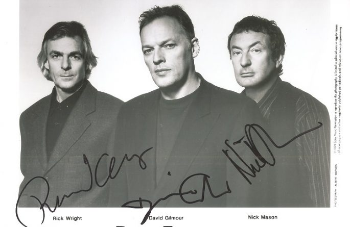 #2-Pink Floyd Signed 8×10 Photograph