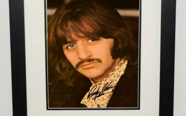 Ringo Starr Signed 8×10 Photograph