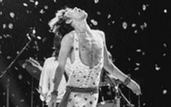 Mick Jagger of The Rolling Stones On Stage