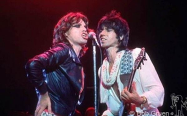 Color Mick Jagger & Keith Richards Live, Baton Rouge, LA, 1975