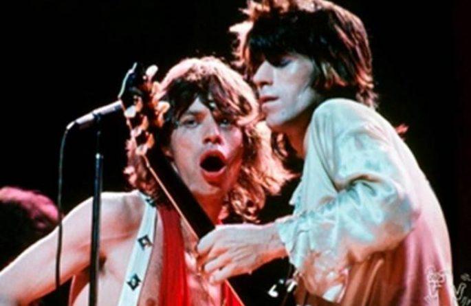 Mick Jagger & Keith Richards Live, MSG, NYC, 1972