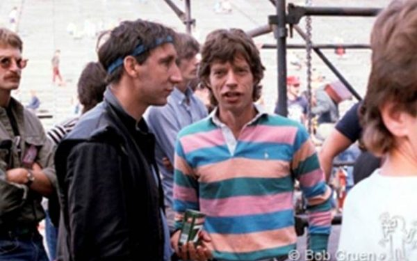 Pete Townshend & Mick Jagger Philadelphia, PA, 1982