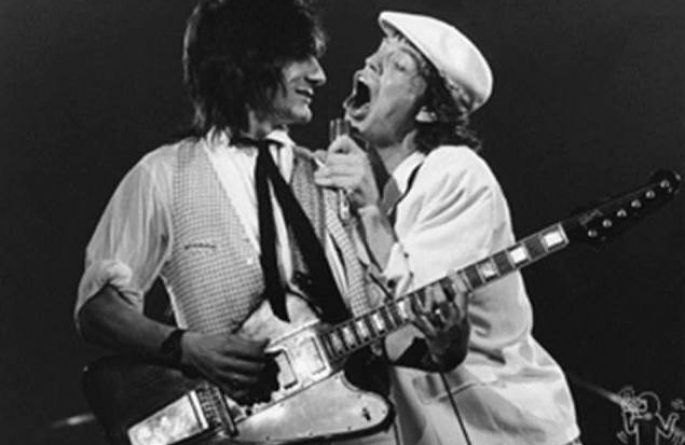 Ronnie Wood & Mick Jagger, NYC, 1978
