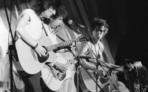 Ronnie Wood, Bob Dylan & Keith Richards Live