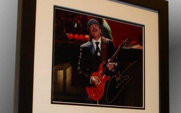 #1-Santana Signed 8x10Photograph
