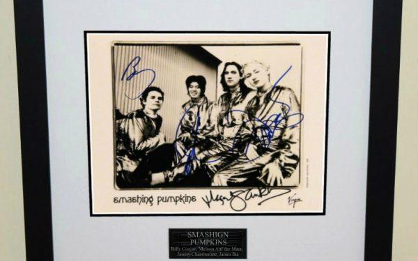 Smashing Pumpkins Signed 8×10 Photograph
