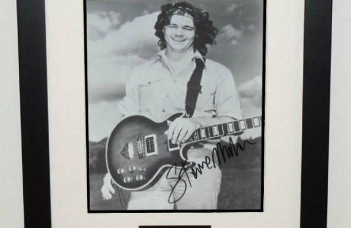 Steve Miller 8×10 Signed Photograph