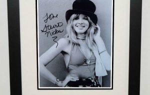 #2-Stevie Nicks Signed Photograph