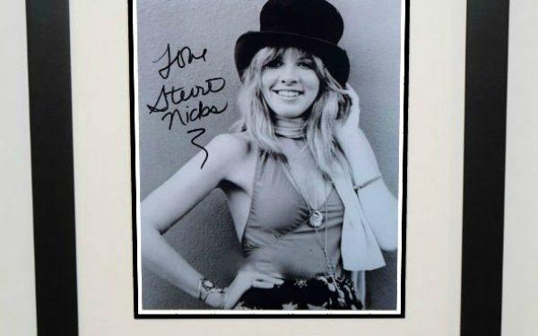 #2-Stevie Nicks Signed 8×10 Photograph