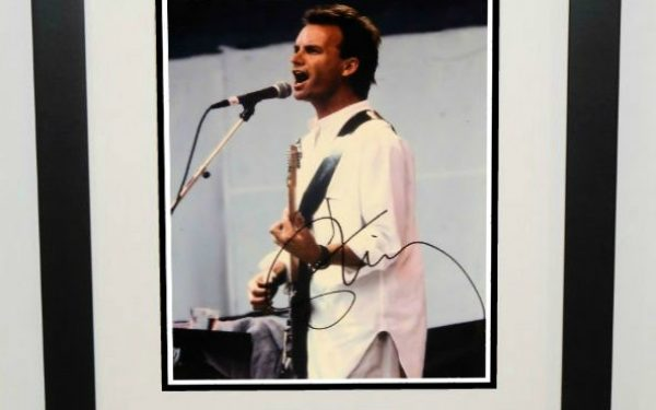 #4-The Police – Sting Signed 8×10 Photograph