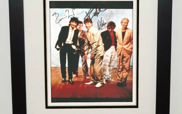 #2-Rolling Stones Signed 8×10 Photograph