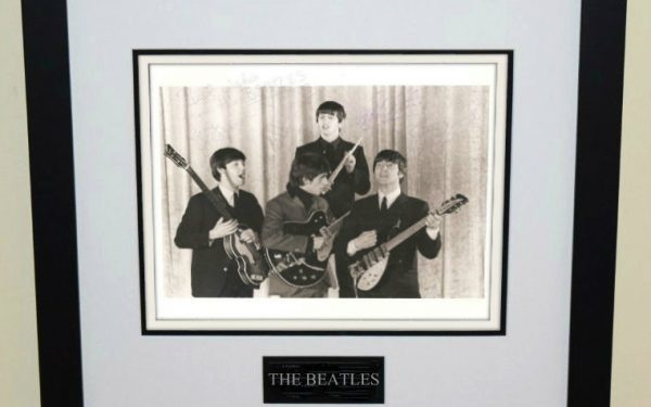 #2-Beatles Signed 8×10 Photograph