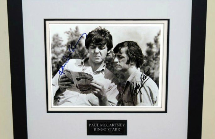 #3-Beatles  – Signed 8×10 Photograph