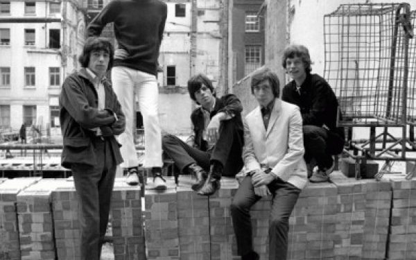 The Rolling Stones On The Wall