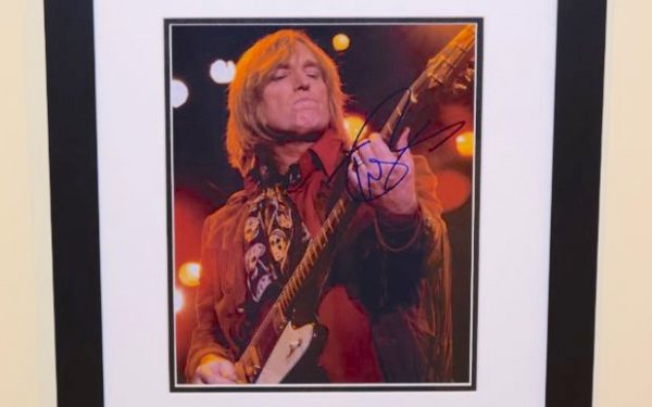 #1-Tom Petty Signed 8×10 photograph