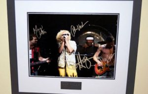 #4-Van Halen Signed 8×10 Photograph