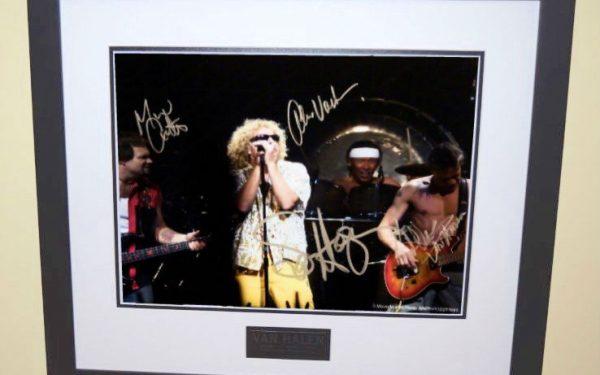 #4-Van Halen Signed 8×10 Photograph