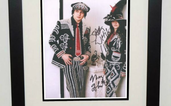 White Stripes Signed 8×10 Photograph