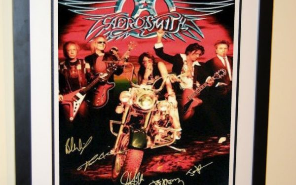 #2 Aerosmith Signed Poster