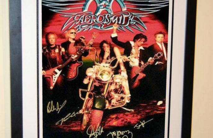 #2 Aerosmith Signed Poster