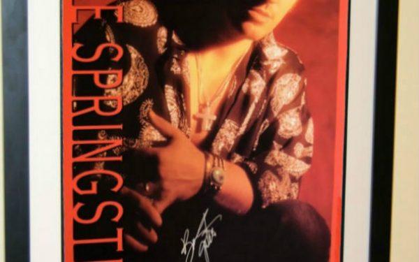 #1 Bruce Springsteen Signed Poster