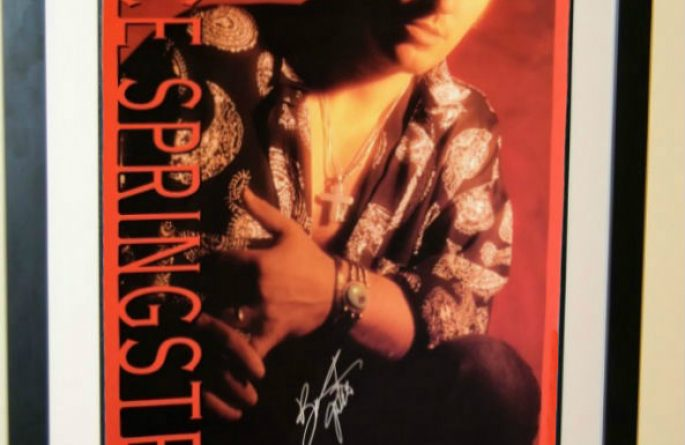 #1 Bruce Springsteen Signed Poster