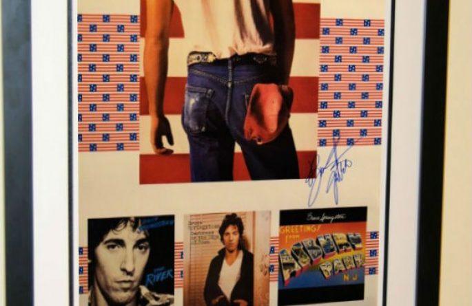 #2 Bruce Springsteen Signed Poster