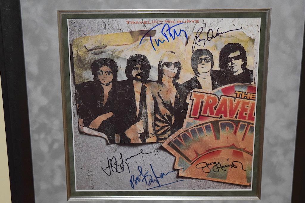 Traveling Wilburys Bob Dylan Jeff Lynne George Harrison