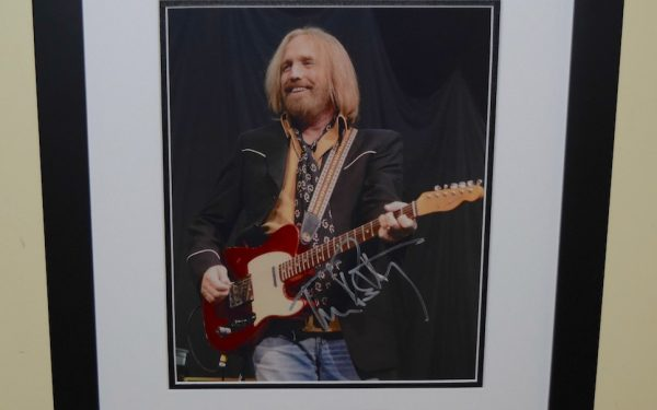 #4-Tom Petty Signed 8×10 photograph