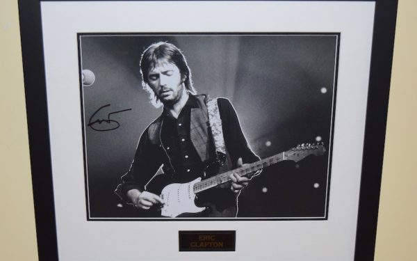 #11-Eric Clapton Signed Photograph