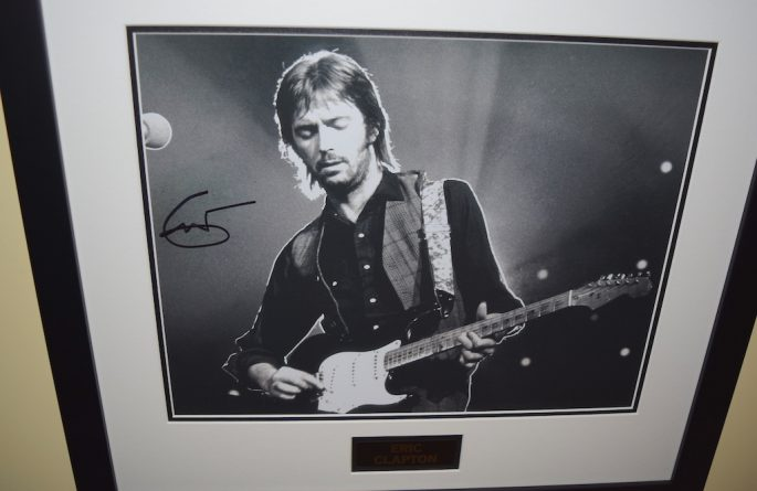 #11-Eric Clapton Signed 11×14 Photograph