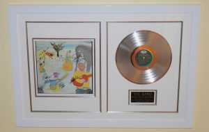 Framed Signed Albums