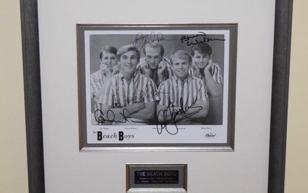 The Beach Boys Signed 8×10 Photograph