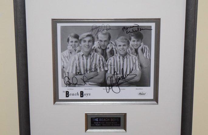 #1 Beach Boys Signed 8×10 Photograph