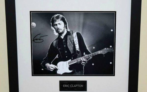 #11-Eric Clapton Signed Photograph