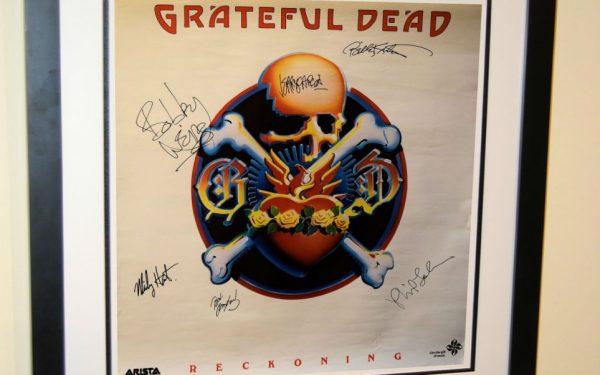 Grateful Dead Signed Poster