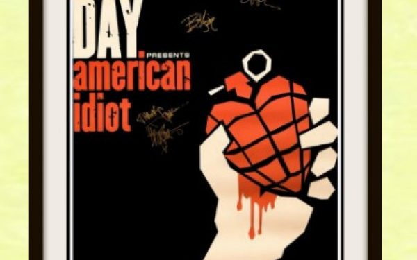 Green Day Signed Poster