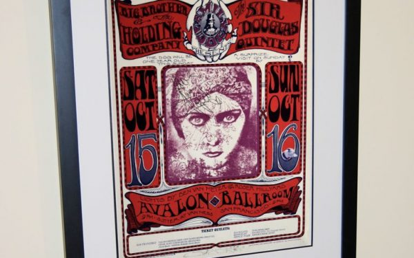Janis Joplin Signed Poster