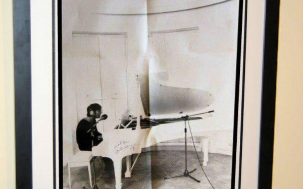 John Lennon Signed Poster