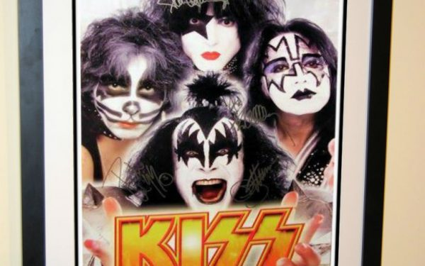 #2 KISS Signed Poster
