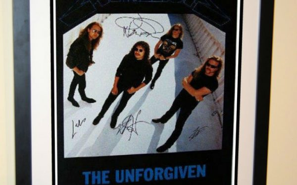 #2 Metallica Signed Poster