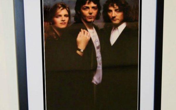 #3 Paul McCartney, Wings Signed Poster