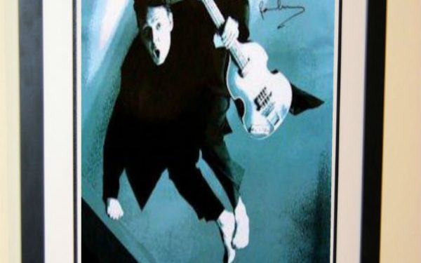#2 Paul McCartney Signed Poster