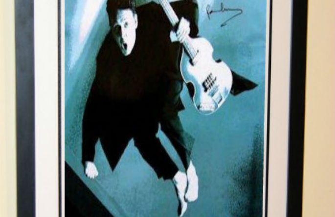 #2 Paul McCartney Signed Poster