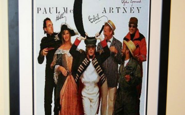 #1 Paul McCartney Signed Poster