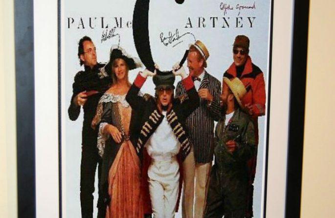 #1 Paul McCartney Signed Poster