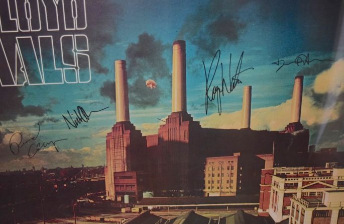 #3 Pink Floyd Signed Poster