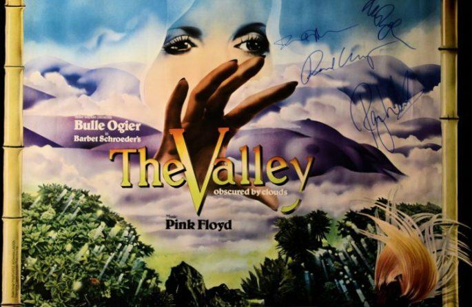 #2 Pink Floyd Signed Poster