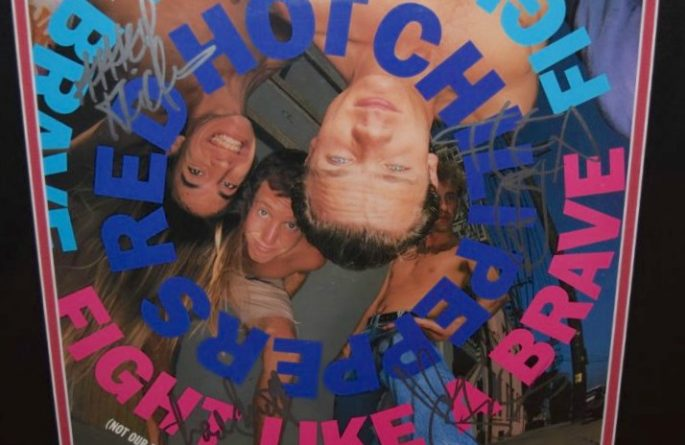 Red Hot Chili Peppers  –  Fight Like A Brave