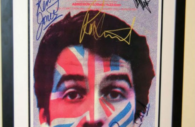 #1 Rod Stewart & Small Faces Signed Poster